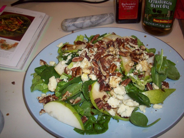 Pecan-Pear Salad (Eat Me. Drink Me.)