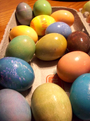 Easter eggs (Eat Me. Drink Me.)