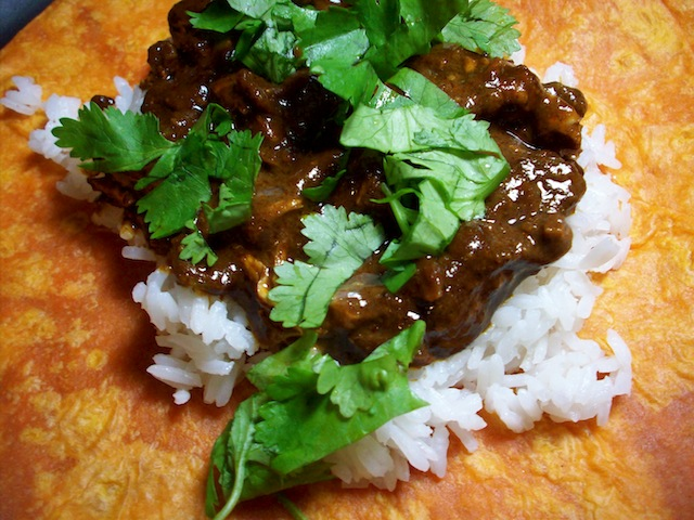 Chicken mole (Eat Me. Drink Me.)