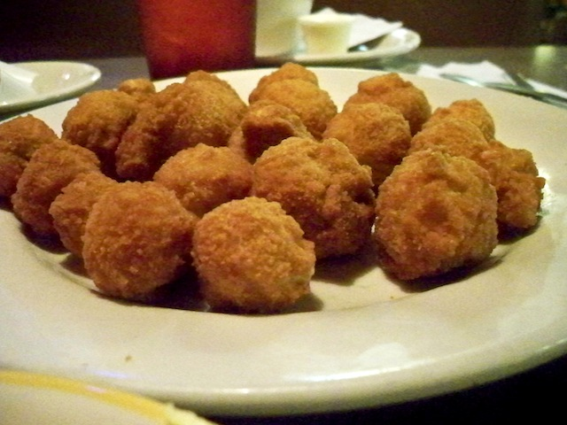 Fried mushrooms (Eat Me. Drink Me.)