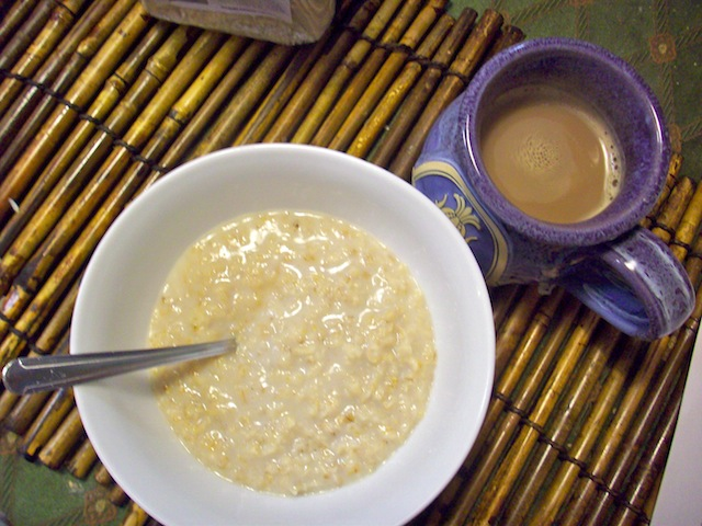 Oatmeal and coffee (Eat Me. Drink Me.)