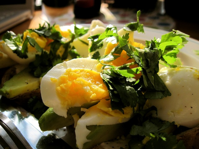 Soft-boiled eggs (Eat Me. Drink Me.)