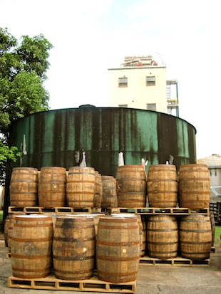 Stacks of barrels (Eat Me. Drink Me.)