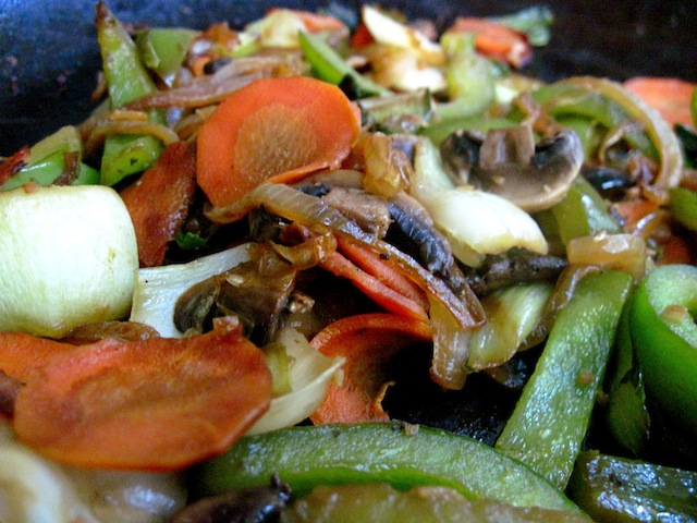 Vegetarian stir fry (Eat Me. Drink Me.)