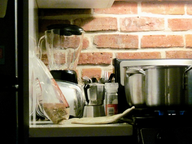The new kitchen (Eat Me. Drink Me.)