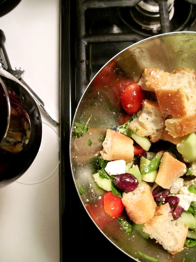 Bread salad (Eat Me. Drink Me.)