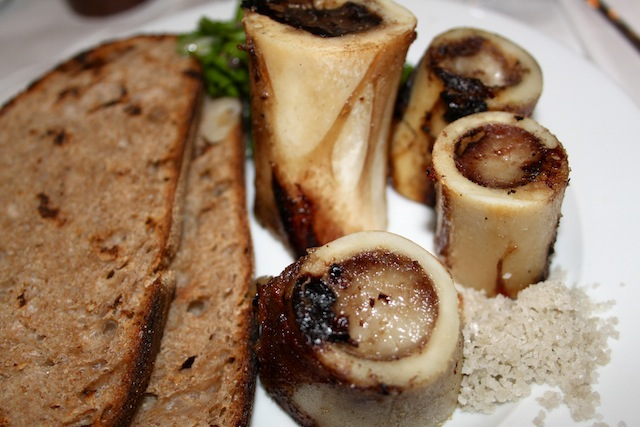 Bone marrow and parsley salad (Eat Me. Drink Me.)