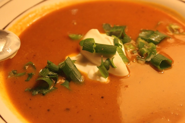 Pumpkin Soup (Eat Me. Drink Me.)