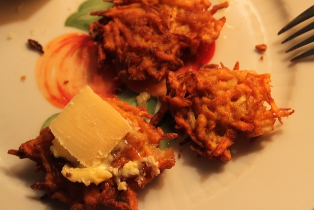 Sweet Potato and Fennel Fritters (Eat Me. Drink Me)