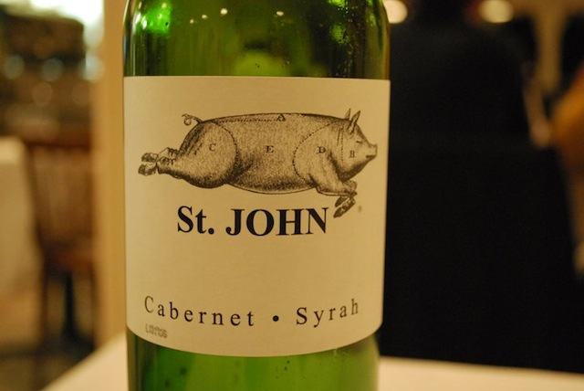 St. John's wine, London (Eat Me. Drink Me.)