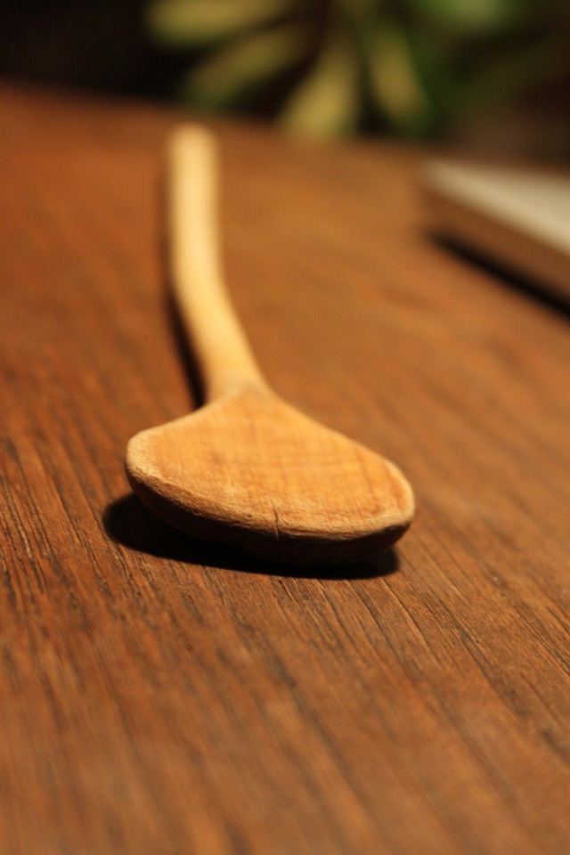 my grandmother's wooden spoon (Eat Me. Drink Me.)