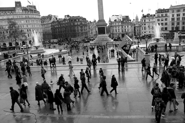 Trafalgar Square, London (Eat Me. Drink Me.)