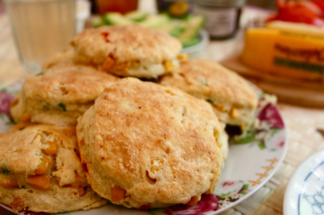 homemade biscuits (Eat Me. Drink Me.)