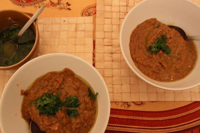 Lentil soup with lemon-parsley drizzle (Eat Me. Drink Me.)
