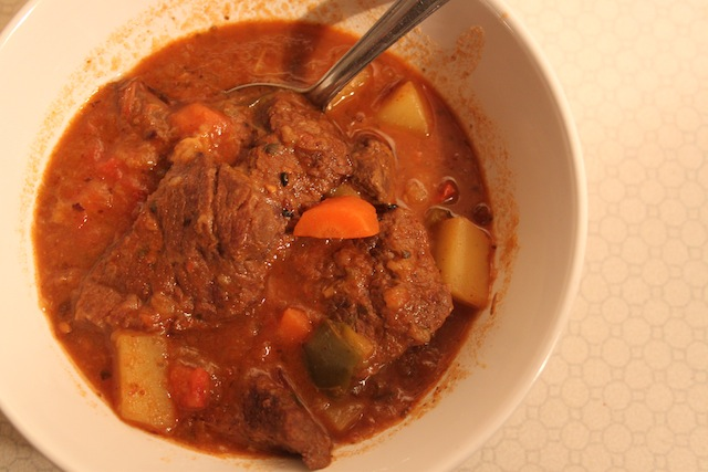 Hungarian goulash (Eat Me. Drink Me.)