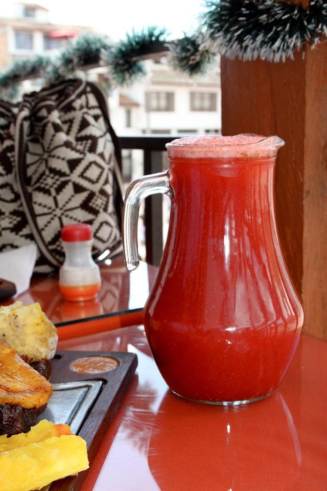 fresa jugo (Eat Me. Drink Me)