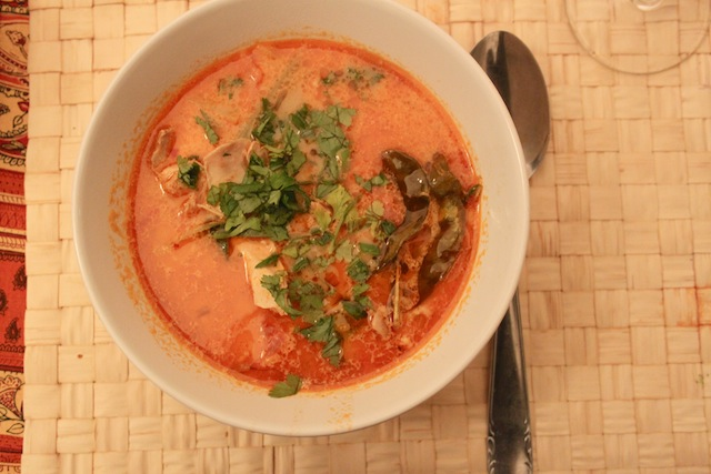 Spicy Thai soup (Eat Me. Drink Me.)