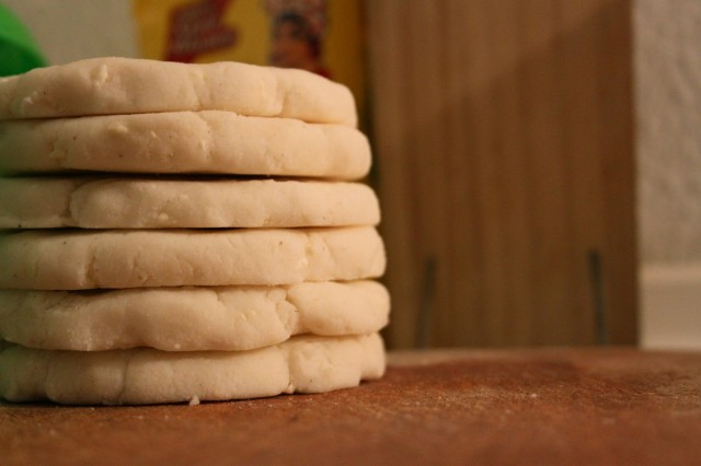 a satisfying stack of arepas (Eat Me. Drink Me)