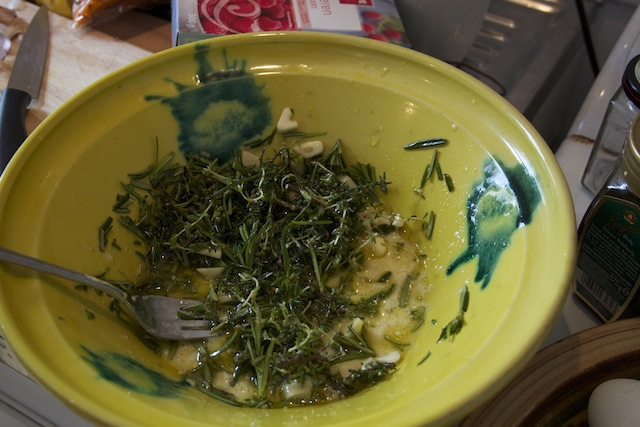 herb, lemon, and garlic marinade (Eat Me. Drink Me)