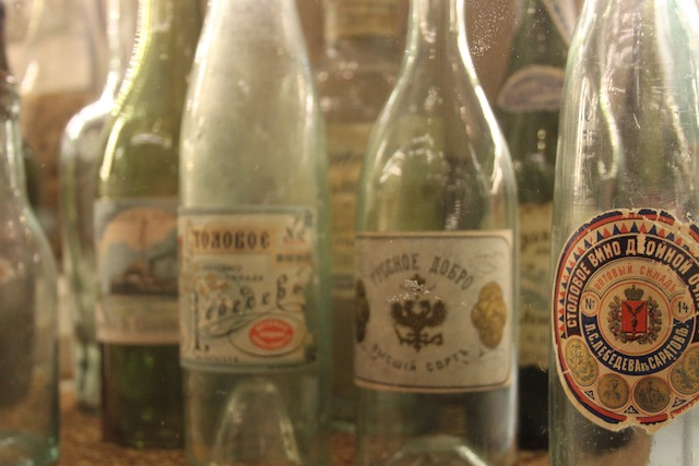Bottles in the Russian Vodka Museum (Eat Me. Drink Me.)
