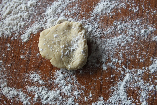 Pasta dough for pelmeny (Eat Me. Drink Me.)