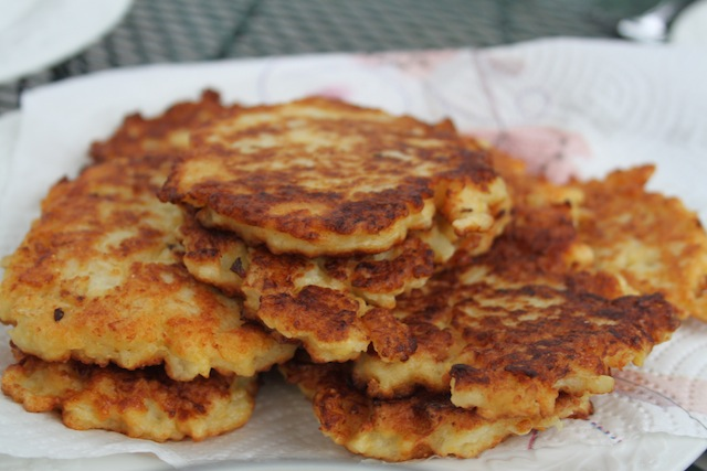 Cauliflower fritters (Eat Me. Drink Me.)