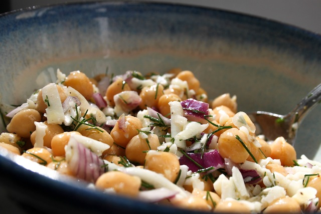chickpea salad (Eat Me. Drink Me.)