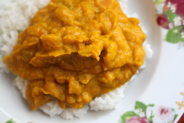 Thai pumpkin curry (Eat Me. Drink Me.)