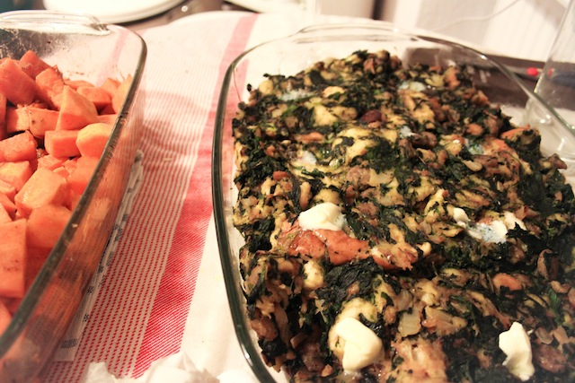 Stuffing and sweet potatoes (Eat Me. Drink Me.)