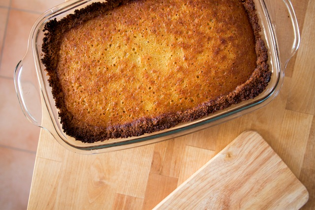 Baked apple custard (Eat Me. Drink Me.)
