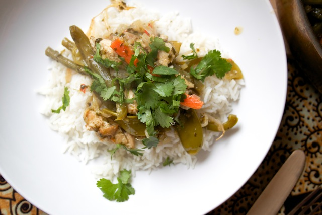 Thai green curry (Eat Me. Drink Me.)
