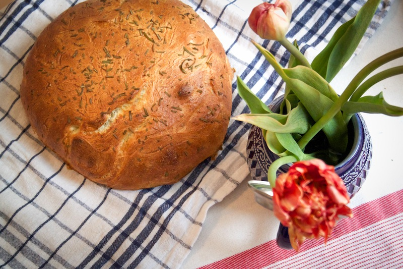 Olive oil and rosemary bread (Eat Me. Drink Me.)