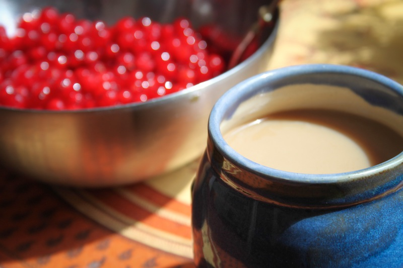 Coffee and currants (Eat Me. Drink Me.)
