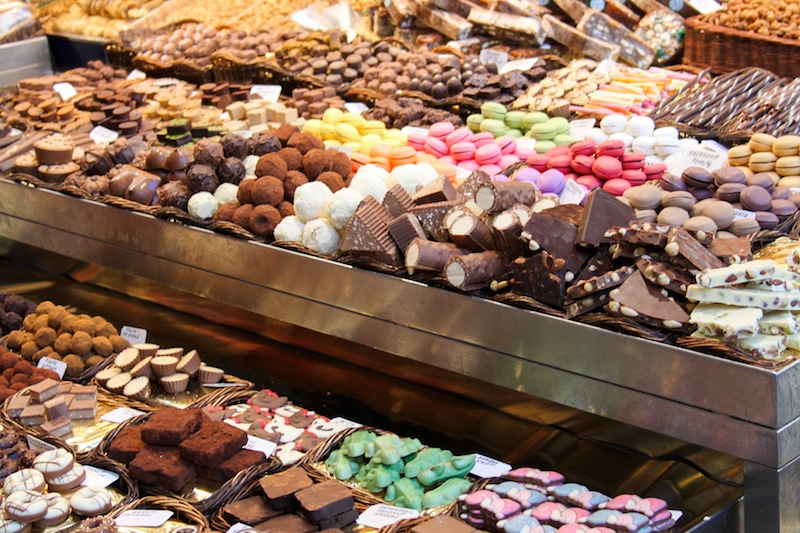 Sweets in La Boqueria (Eat Me. Drink Me.)