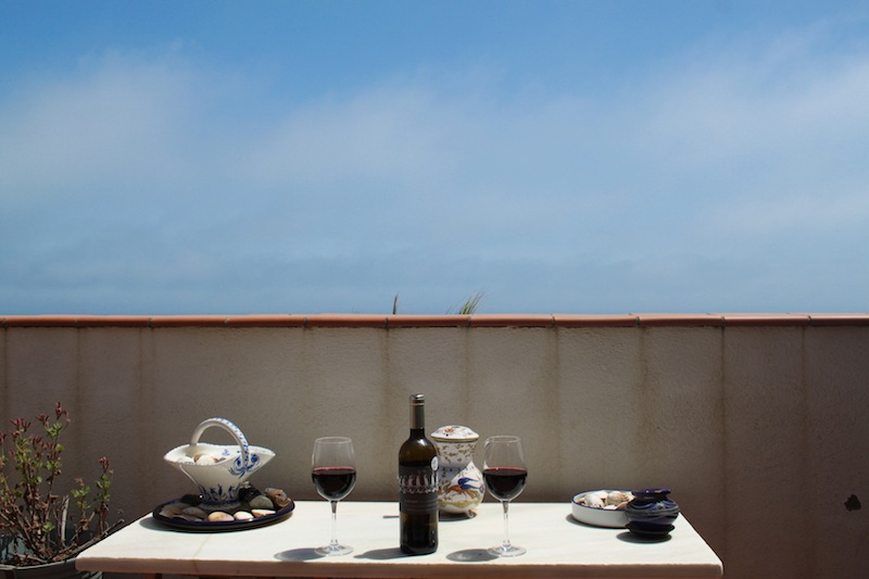 Balcony, Villasar de Mar (Eat Me. Drink Me.)