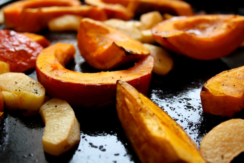 Roasted quince and pumpkin (Eat Me. Drink Me.)