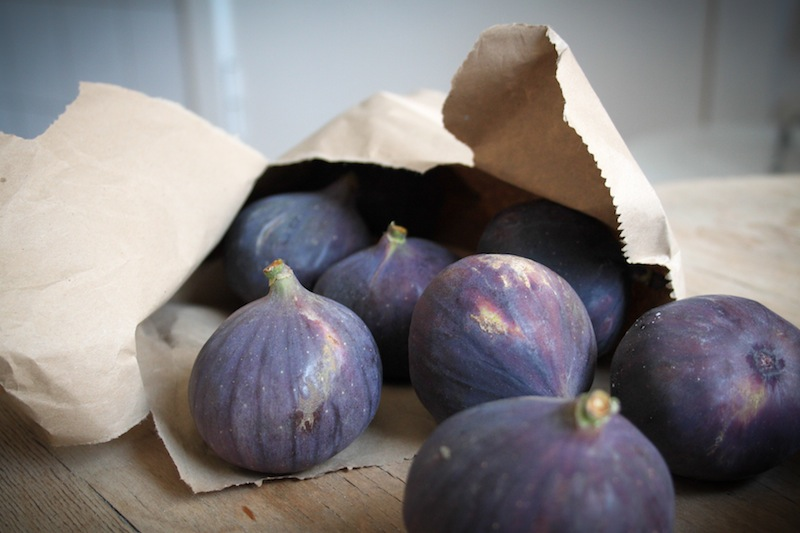 Figs in a paper bag (Eat Me. Drink Me.)