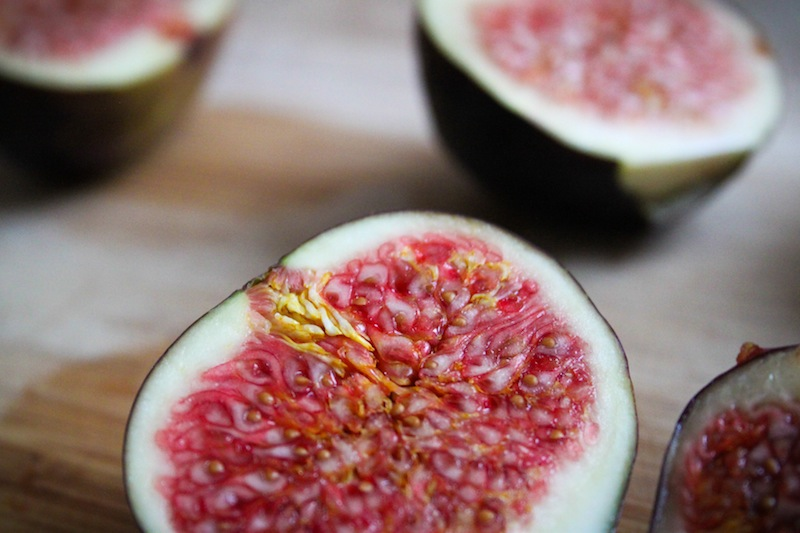 A halved fig (Eat Me. Drink Me.)