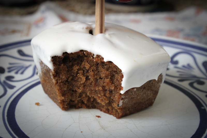 Gingerbread cupcake recipe (Eat Me. Drink Me.)