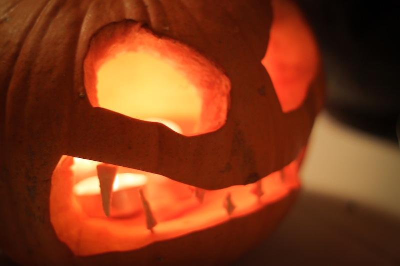 Scary Jack-o-lantern (Eat Me. Drink Me.)