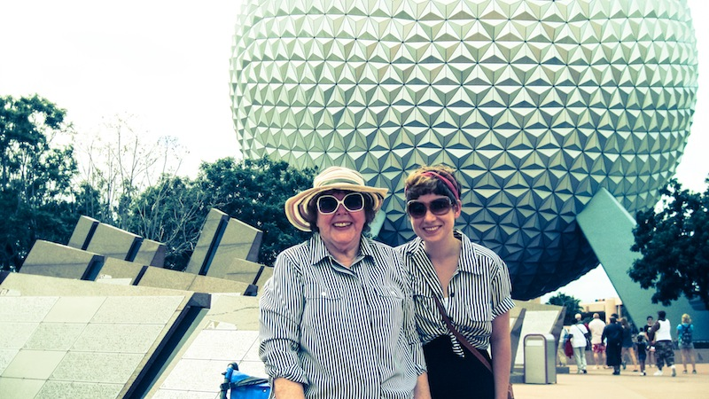 At Epcot (Eat Me. Drink Me.)