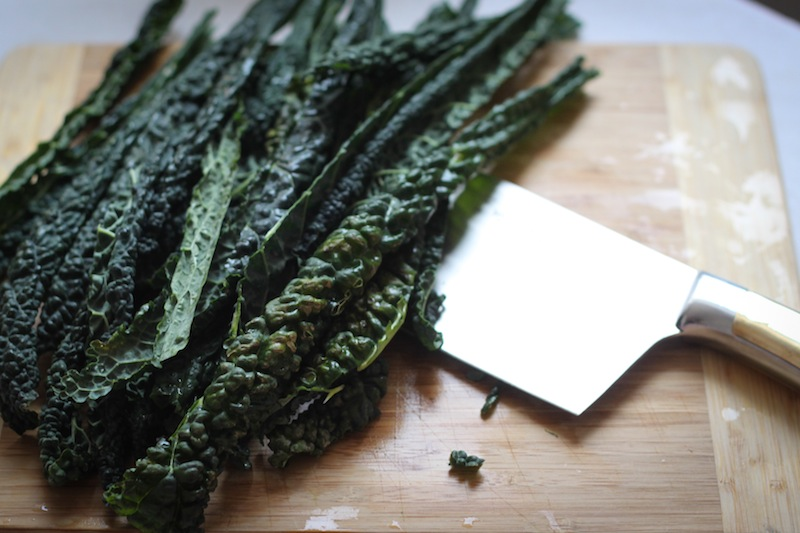 Raw kale (Eat Me. Drink Me.)