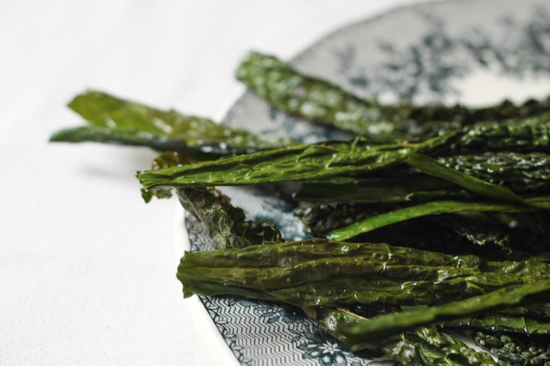 Kale chips (Eat Me. Drink Me.)