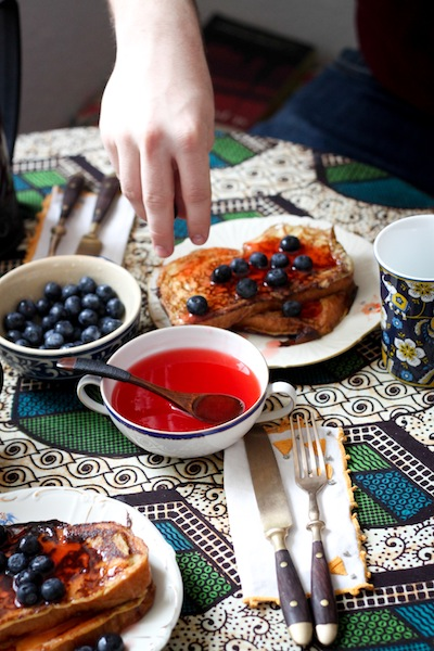 French toast recipe (Eat Me. Drink Me.)
