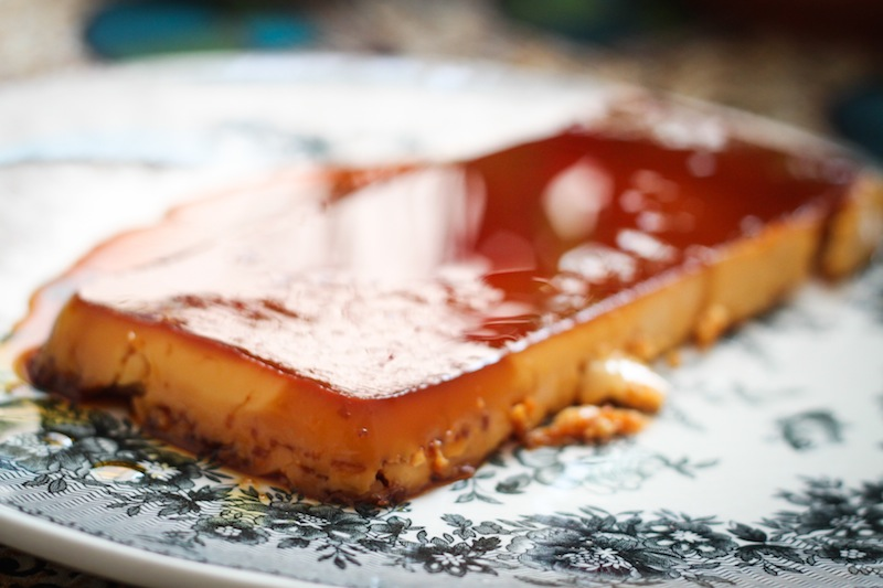 Egg yolk flan recipe (Eat Me. Drink Me.)