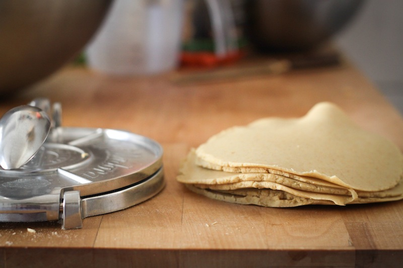 Making corn tortillas (Eat Me. Drink Me.)