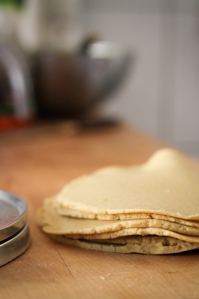 Homemade corn tortillas (Eat Me. Drink Me.)