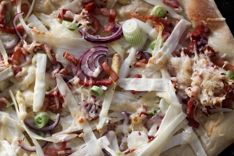 white asparagus pizza recipe (Eat Me. Drink Me.)