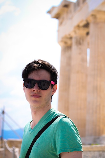 Brother at the Acropolis (Eat Me. Drink Me.)