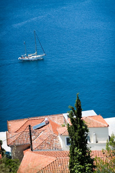 A view from Poros (Eat Me. Drink Me.)